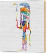 Goddess Of Ancient Egypt Wood Print