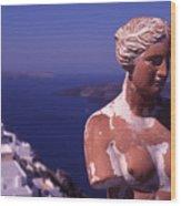 Goddess Of Love Wood Print