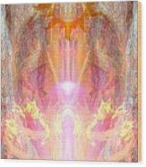 Goddess Shakuru Wood Print