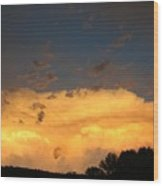 God's Answer To Rain Prayers Wood Print
