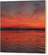 God's Canvas Wood Print