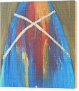God's Colors Wood Print