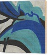 God's Eye Dyptych 2 Wood Print