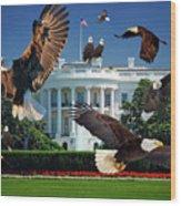 Gods Generals In Washington Wood Print