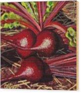 God's Kitchen Series No 2 Beetroot Wood Print