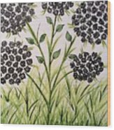 God's Only Me Wildflower  Wood Print