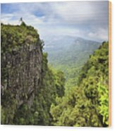 God's Window And The Blyde River Canyon Wood Print