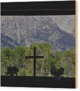 God's Window Wood Print