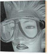 Goggle Me Wood Print