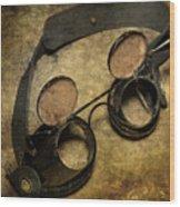 Goggles Wood Print