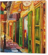 Going Back To New Orleans Wood Print