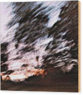 Going Home Wood Print