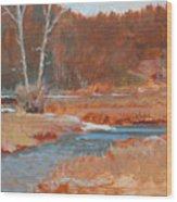 Gold Bar Ranch Wood Print