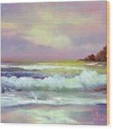Gold Beach Wood Print