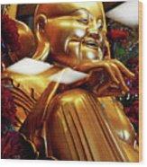 Gold Buddha 5 Wood Print