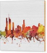 Gold Coast Cityscape 04 Wood Print