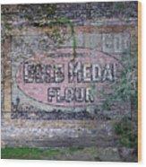 Gold Medal Flour Wood Print