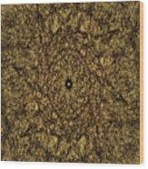 Gold Rush Wood Print
