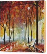 Golde Park Wood Print