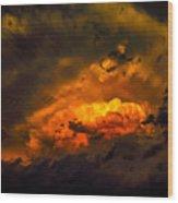 Golden Anvil Wood Print