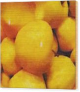 Golden Apples Of The Sun Wood Print