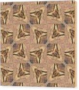Golden Arrowheads Wood Print