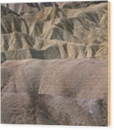 Golden Canyon - Death Valley National Park Wood Print