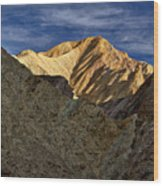 Golden Canyon View #2 - Death Valley Wood Print