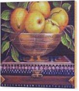 'golden Delicious' Wood Print