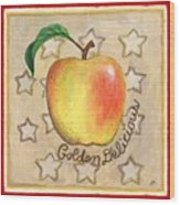 Golden Delicious Two Wood Print