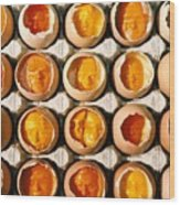 Golden Eggs 2 Wood Print