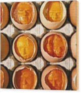Golden Eggs Wood Print