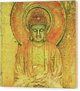 Golden Enlightenment Wood Print