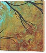 Golden Fascination 5 Wood Print