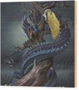 Golden Fleece Wood Print