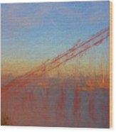 Golden Gate Bridge II Wood Print