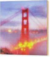 Golden Gate Bridge IIi Wood Print