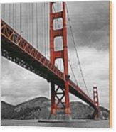 Golden Gate Bridge - San Francisco Wood Print