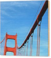 Golden Gate II Wood Print