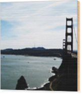 Golden Gate Iv Wood Print
