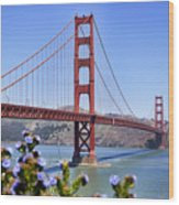 Golden Gate Wood Print