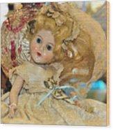 Golden Girl Wood Print