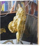 Golden Girl Of Gasparilla Wood Print