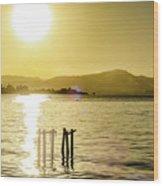 Golden Hour Wood Print