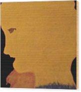 Golden Lady   -036 Wood Print