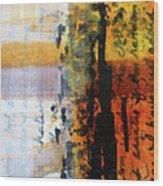 Golden Marks 4 Wood Print