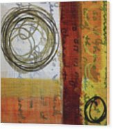 Golden Marks 5 Wood Print