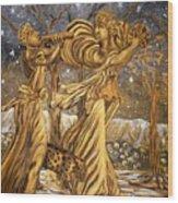 Golden Minstrels. Wood Print