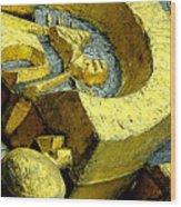 Golden Musselburgh IIi Wood Print