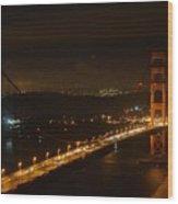 Golden Night View 292 Wood Print